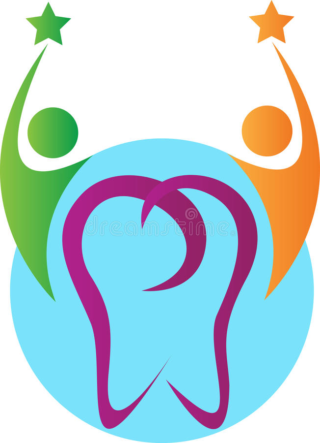 De tandzorg van mensen vector illustratie