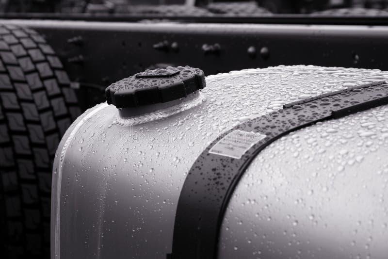 De tank van de benzine stock foto's