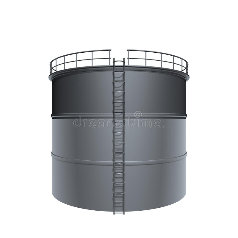 De tank van de olie vector illustratie