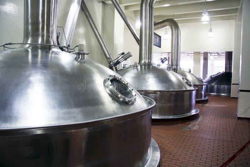 De tank van het bier stock foto's