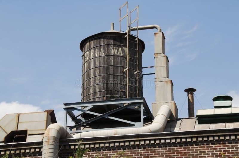 De Tank van het water stock foto's
