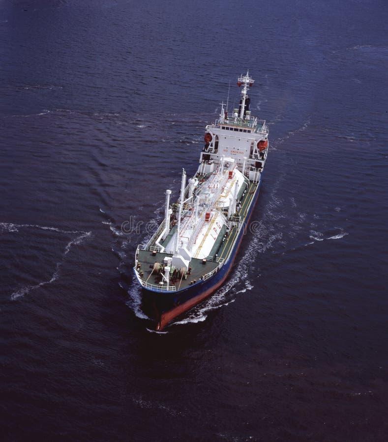 De Tanker van LPG royalty-vrije stock foto