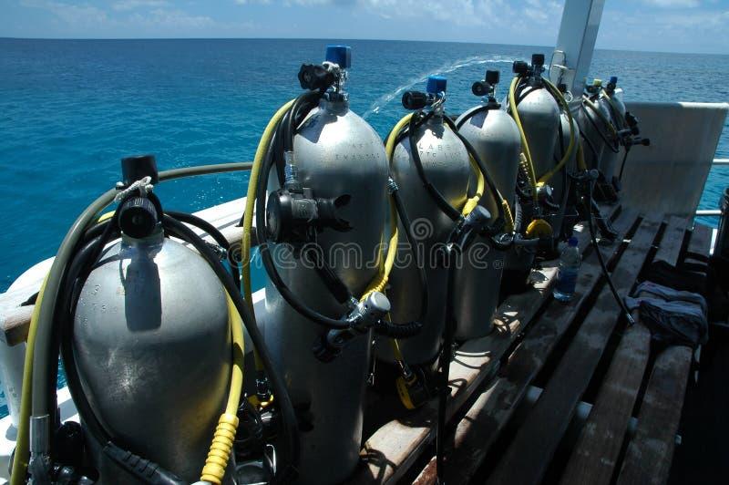 De tanks van de lucht royalty-vrije stock fotografie