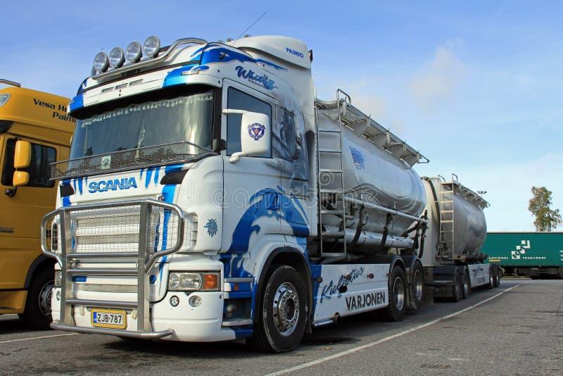 De Tankwagen van Scania R580 royalty-vrije stock foto