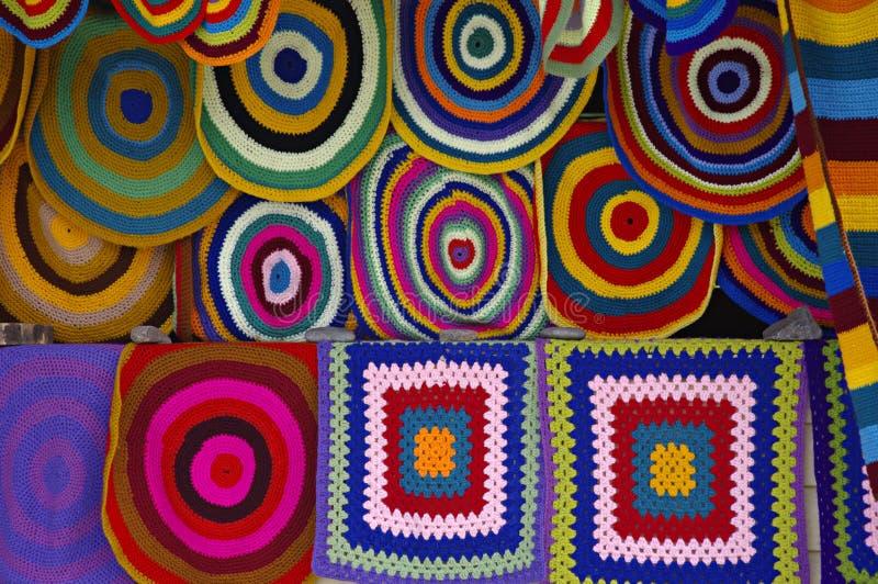 De tapijten van Altay, Rusland. royalty-vrije stock foto's