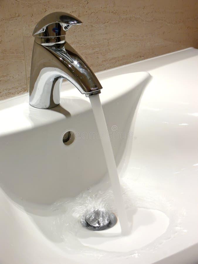 De Tapkraan van het stromende Water royalty-vrije stock foto