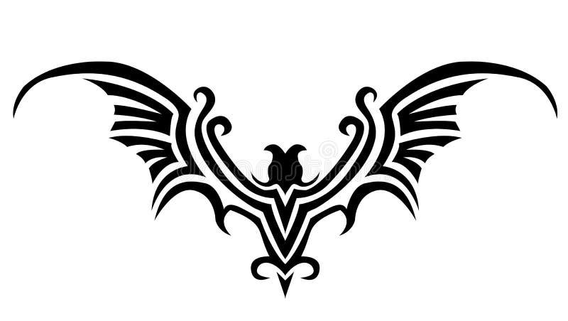 De tatoegering van de knuppel stock illustratie