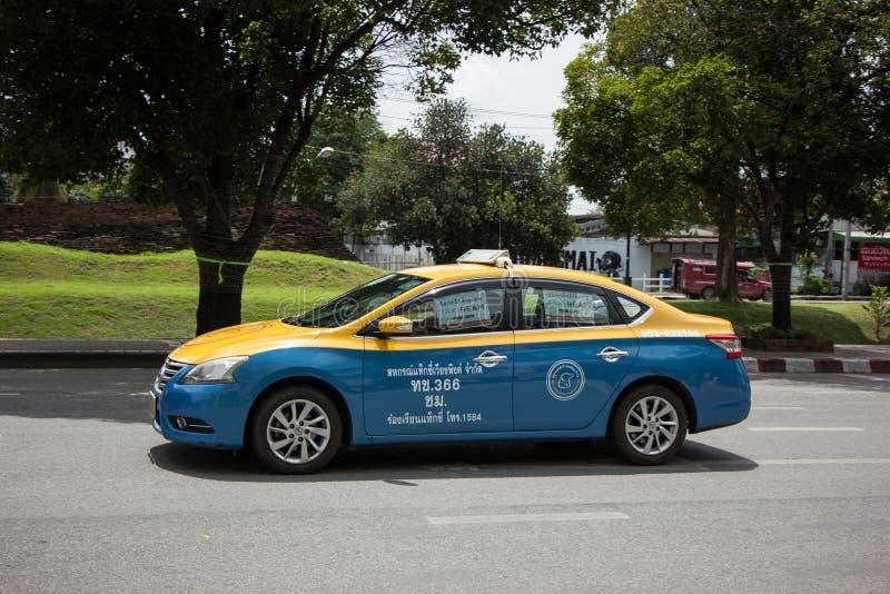 De Taxi Chiangmai van de greepstad stock foto's
