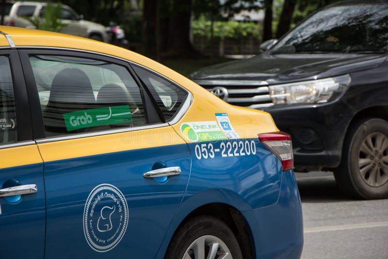 De Taxi Chiangmai van de greepstad royalty-vrije stock foto's