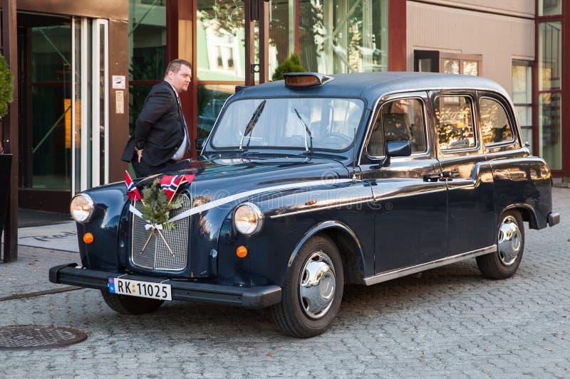 De taxi van Austin FX4 royalty-vrije stock fotografie