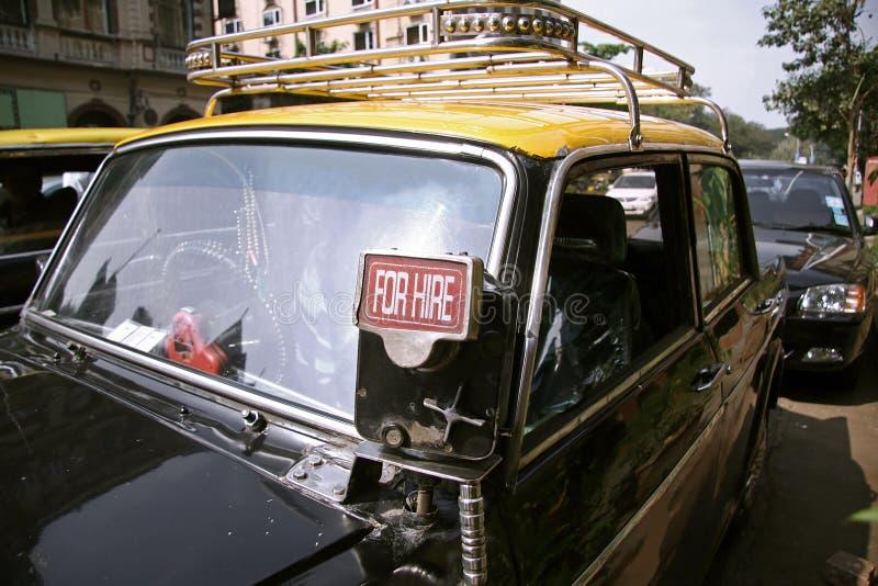 De taxi van Mumbai royalty-vrije stock afbeelding