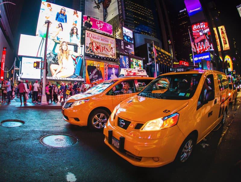 De Taxi van New York stock afbeelding