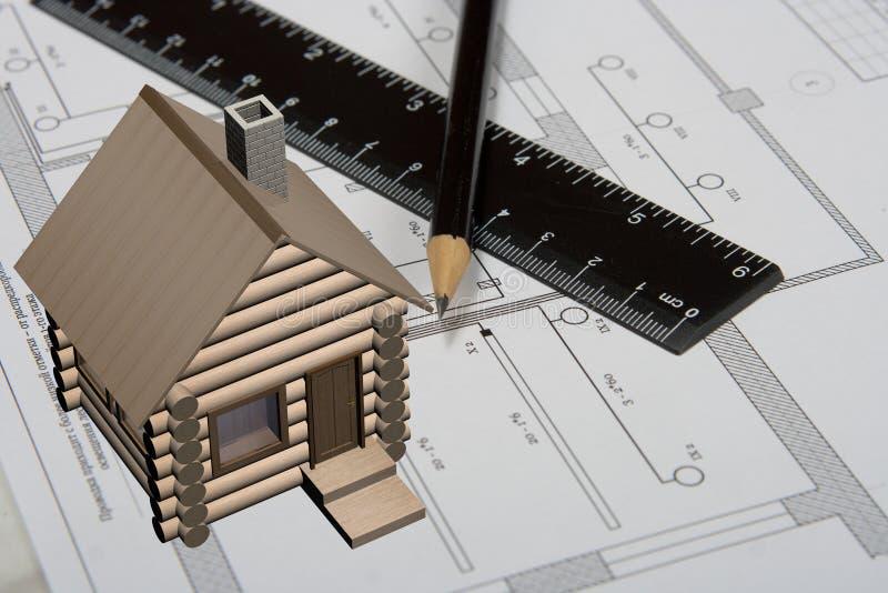 De techniek die op een document trekt. vector illustratie