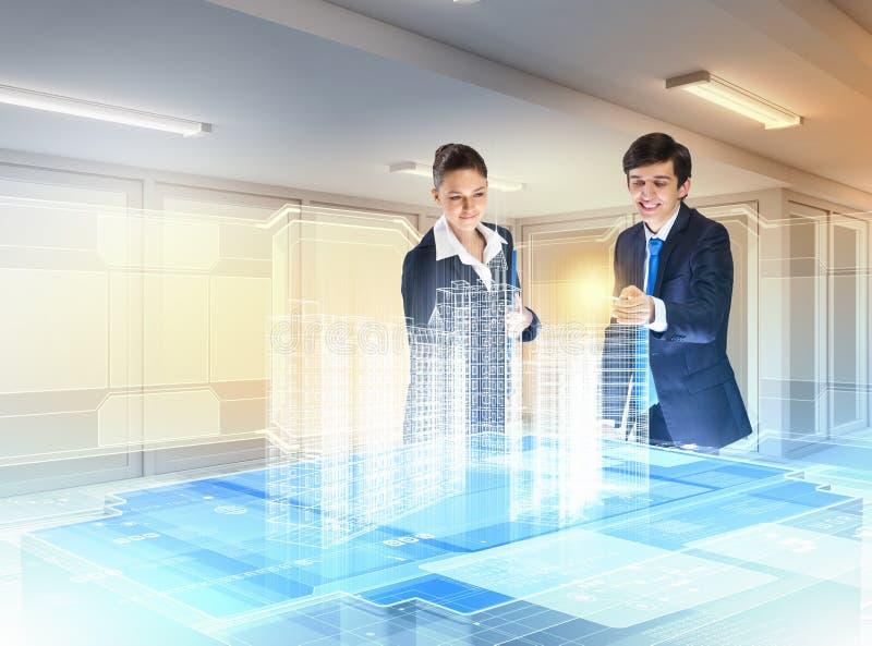 Download De Technologieën Van De Bouw En Van De Innovatie Stock Foto - Afbeelding bestaande uit cyberspace, pictogram: 29511296