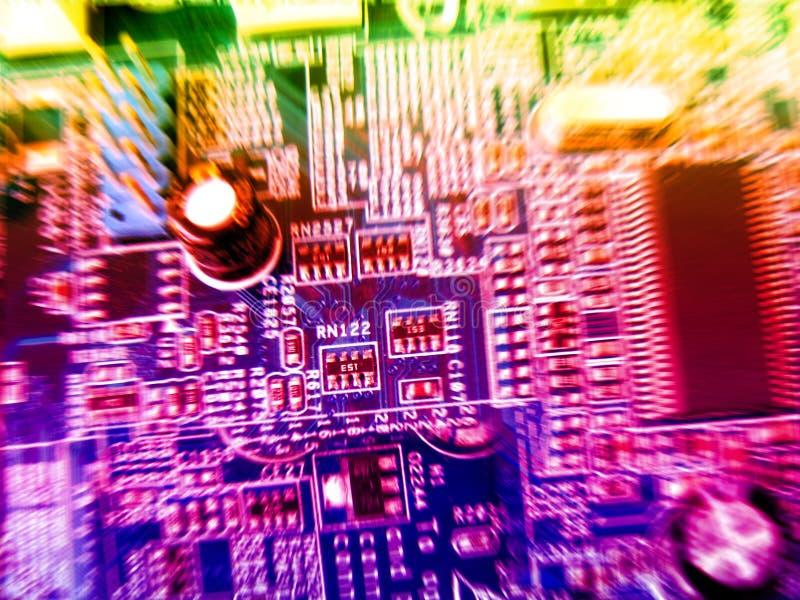 De technologie van Abstrac stock afbeeldingen