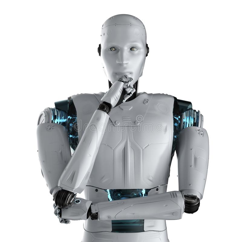 De technologie van de automatiseringsanalyse royalty-vrije illustratie
