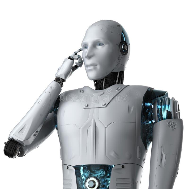 De technologie van de automatiseringsanalyse vector illustratie