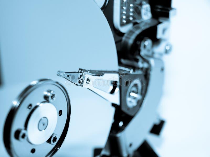 De technologie van de harde schijf stock foto's
