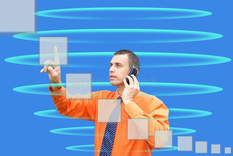 De technologie van Internet stock fotografie