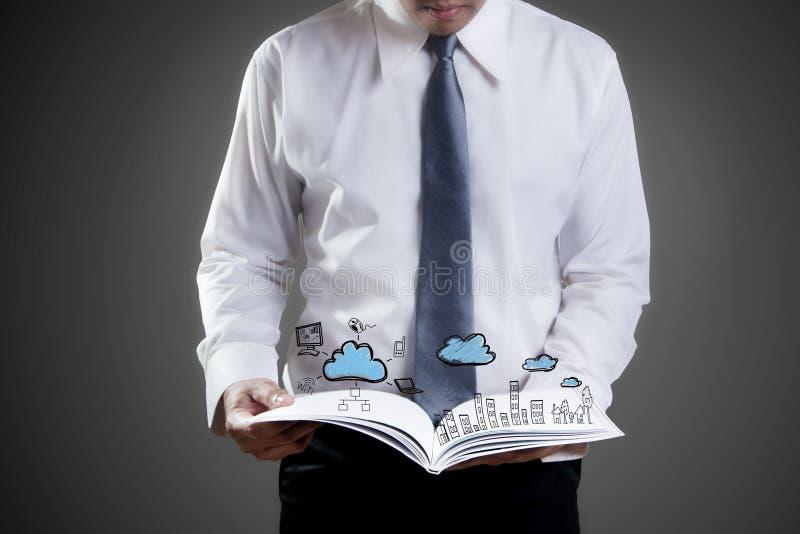 De technologie van de wolk royalty-vrije stock afbeelding