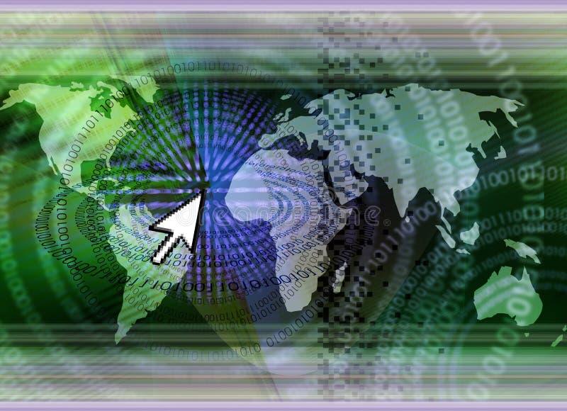 De technologieconcept van IT stock illustratie