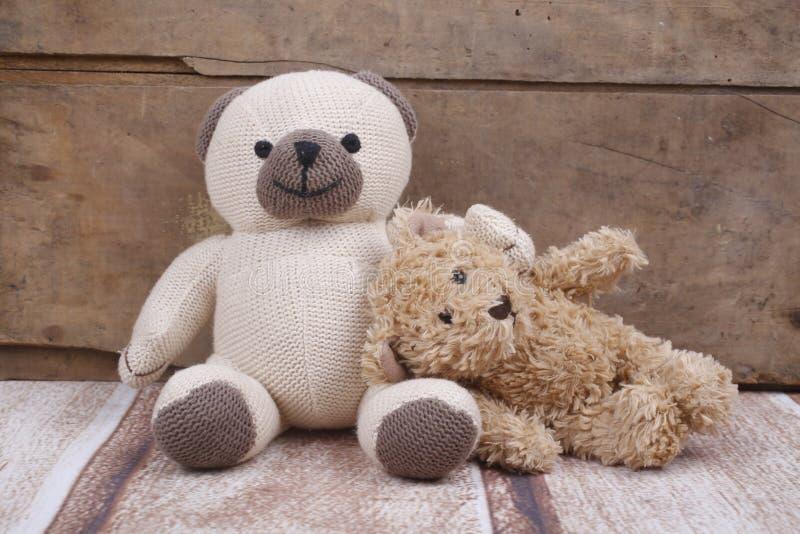 De teddyberen ontspannen stock foto's