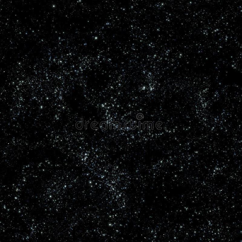 De tegel van de de melkwegtextuur van de kosmische ruimte vector illustratie
