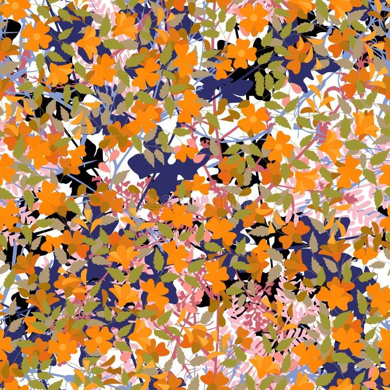 De tegel van de wildernis vector illustratie
