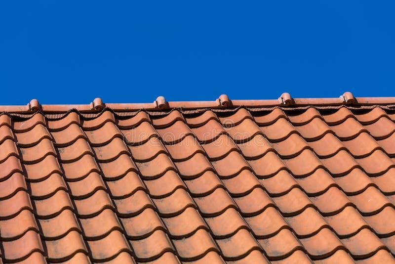 De tegelpatroon van het dak royalty-vrije stock afbeelding