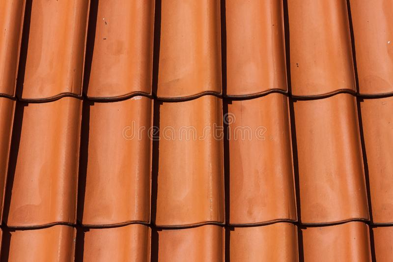 De tegelpatroon van het dak royalty-vrije stock foto