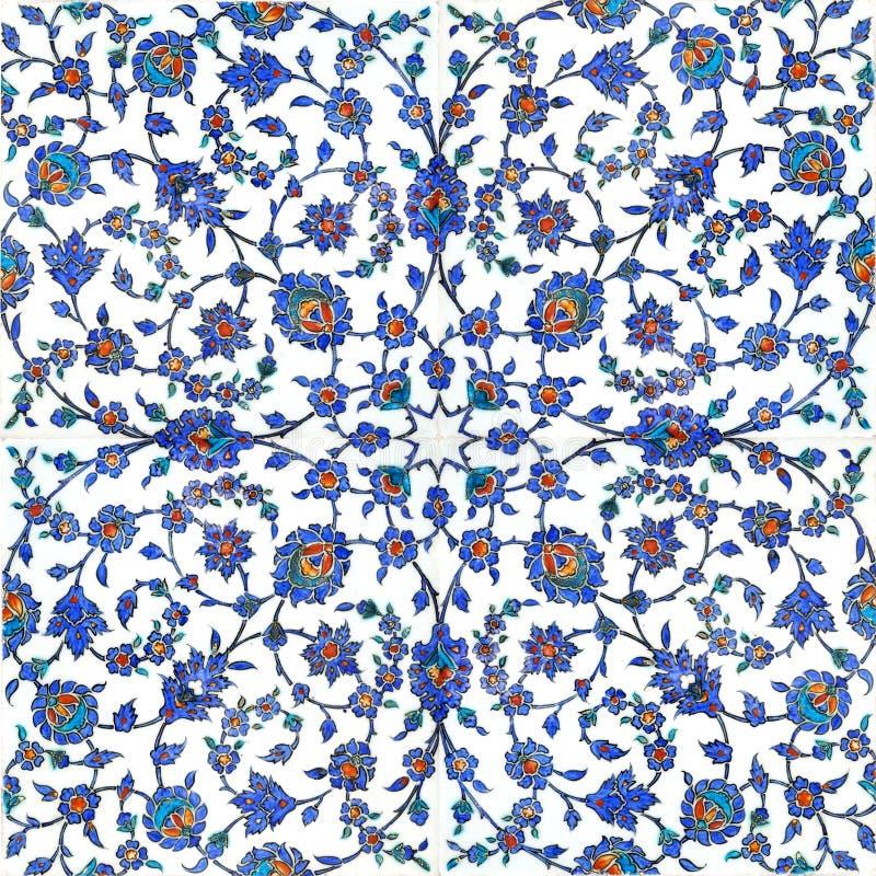 De tegels van de ottomane royalty-vrije stock afbeeldingen