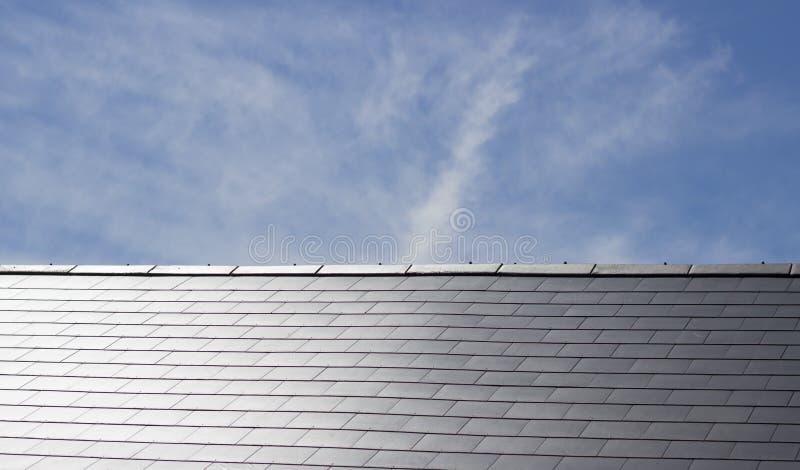 De tegels van het dak stock fotografie