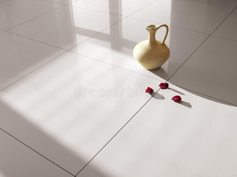 De tegels van het de tegelsporselein van de vloer stock fotografie