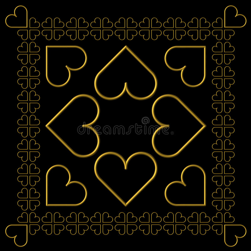De tegels van valentijnskaarten vector illustratie