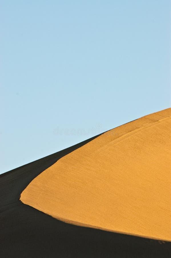 De tegenover elkaar stellende Rand van het Duin van het Zand stock foto's