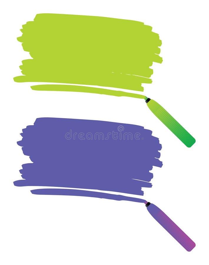 De tekening van de pen vector illustratie