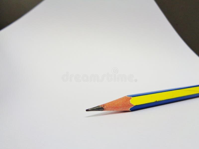 De tekening van het potlood stock foto