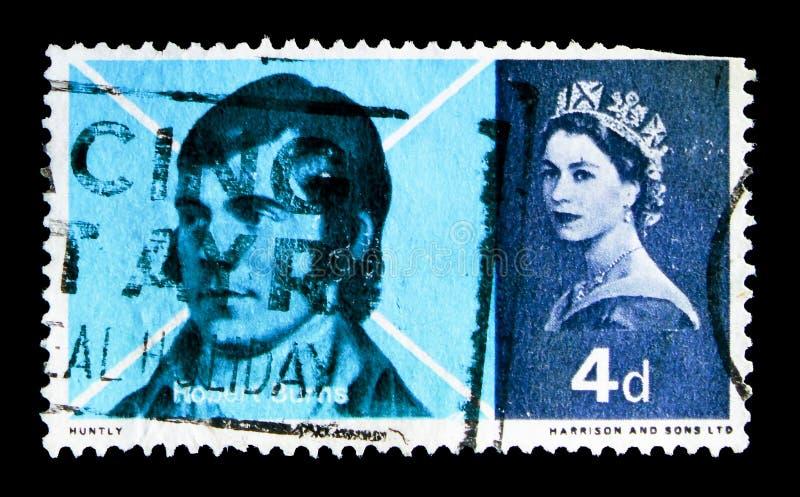 De Tekening van het Skirvingskrijt, Brandwondenherdenking serie, circa 1966 royalty-vrije stock afbeelding