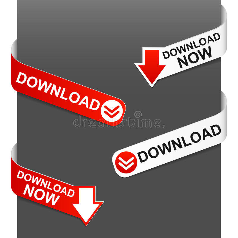 De tekens van de linkerzijde en van de rechterkant - Download royalty-vrije illustratie
