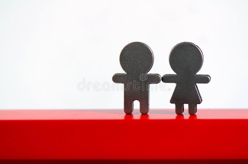 De tekens van de man en van de vrouw. royalty-vrije stock afbeelding