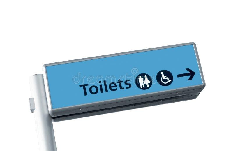 De tekens van het toilet royalty-vrije stock afbeelding