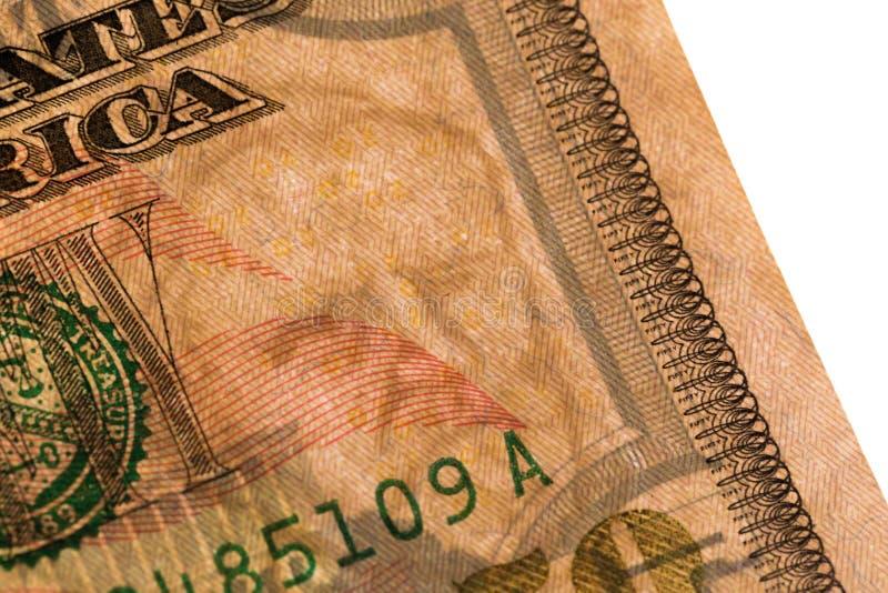 De tekens van het vijftig dollarswater stock afbeeldingen