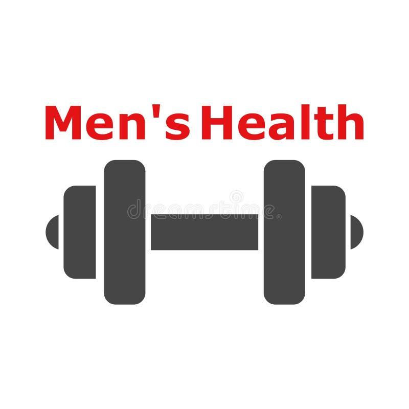 De tekst van de mensen` s Gezondheid, het pictogram van de Mensen` s Gezondheid het embleem of vector illustratie