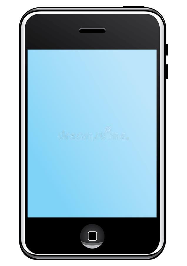 De telecommunicaties van Iphone stock foto's