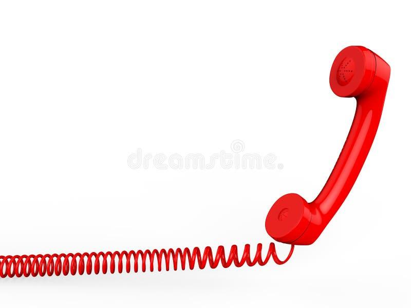 De telefoon met Copyspace toont het Babbelen Bespreking en het Communiceren vector illustratie