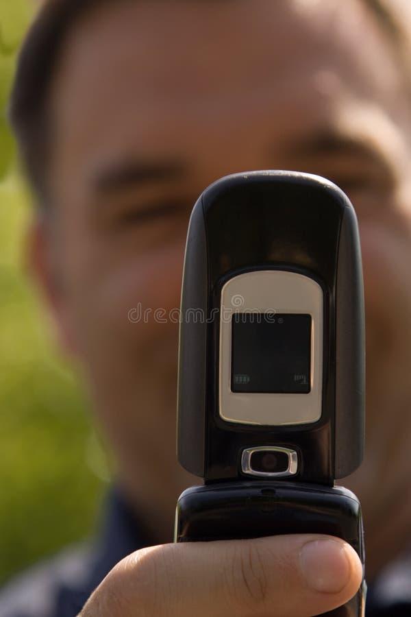 De telefoon van de camera royalty-vrije stock afbeeldingen