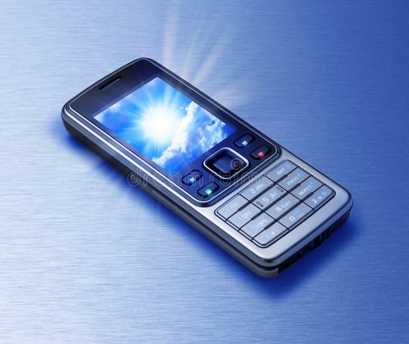 Download De Telefoon van de cel stock afbeelding. Afbeelding bestaande uit toegang - 11115217