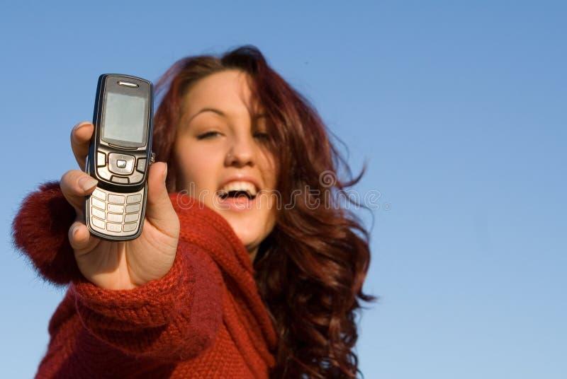 De telefoon van de cel royalty-vrije stock fotografie
