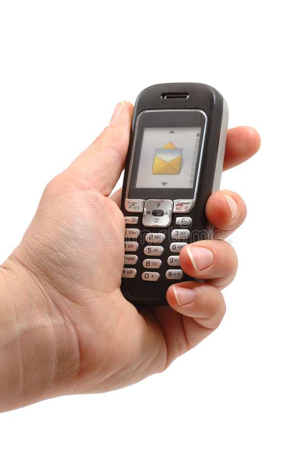 De telefoon van de cel vector illustratie