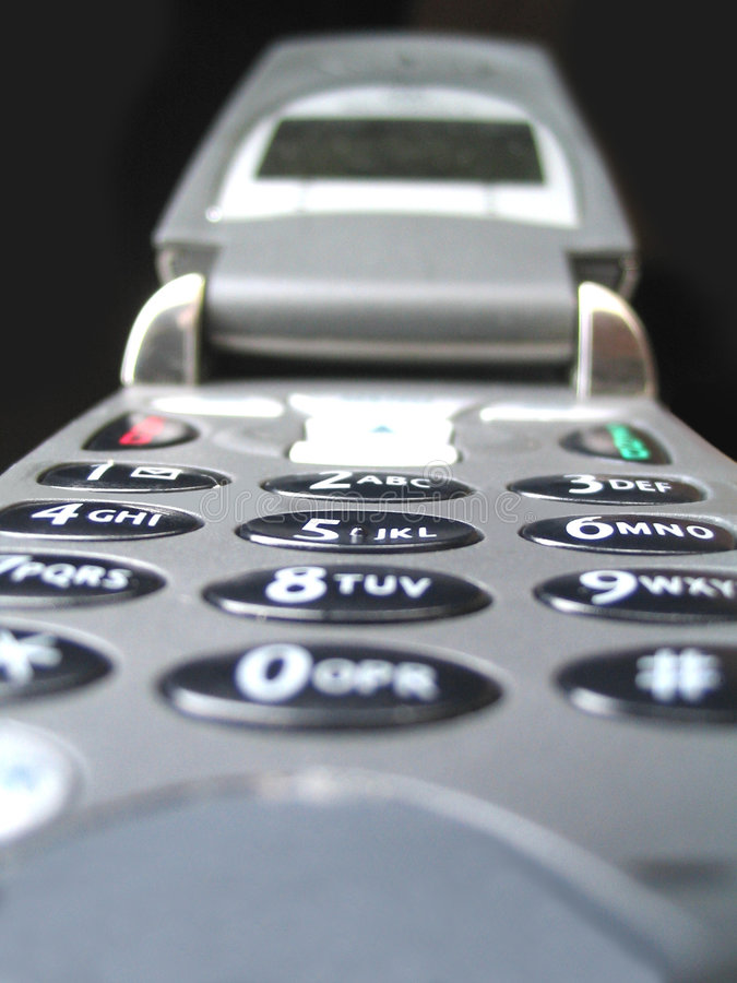 De telefoon van de cel royalty-vrije stock afbeeldingen